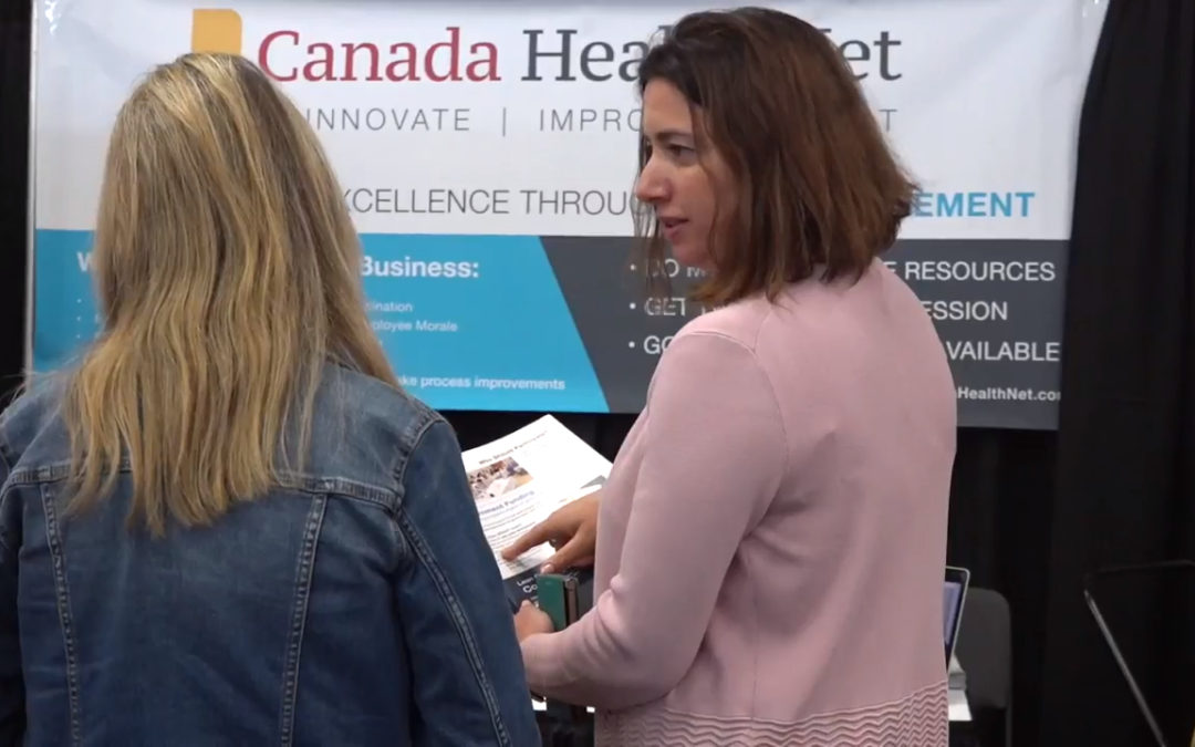 Canada Health Net at Canadian Cleaning Conference 2018